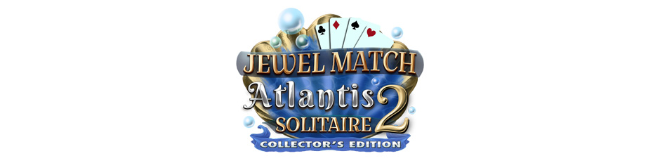 Jewel Match Atlantis Solitaire 2 Collector's Edition Logo - GameHouse Premiere Exclusive