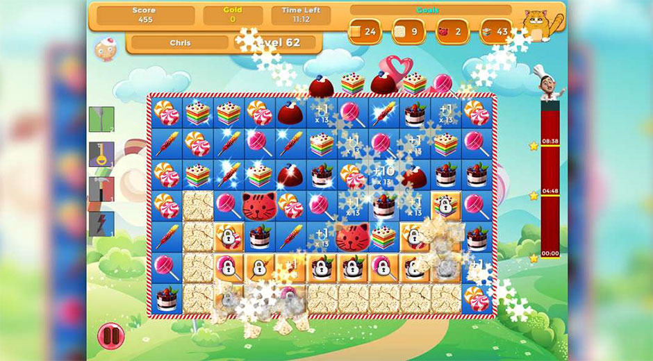 Sweet Treats - GameHouse Match 3 Games