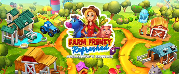 Farm Frenzy Refreshed Collector's Edition - GameHouse