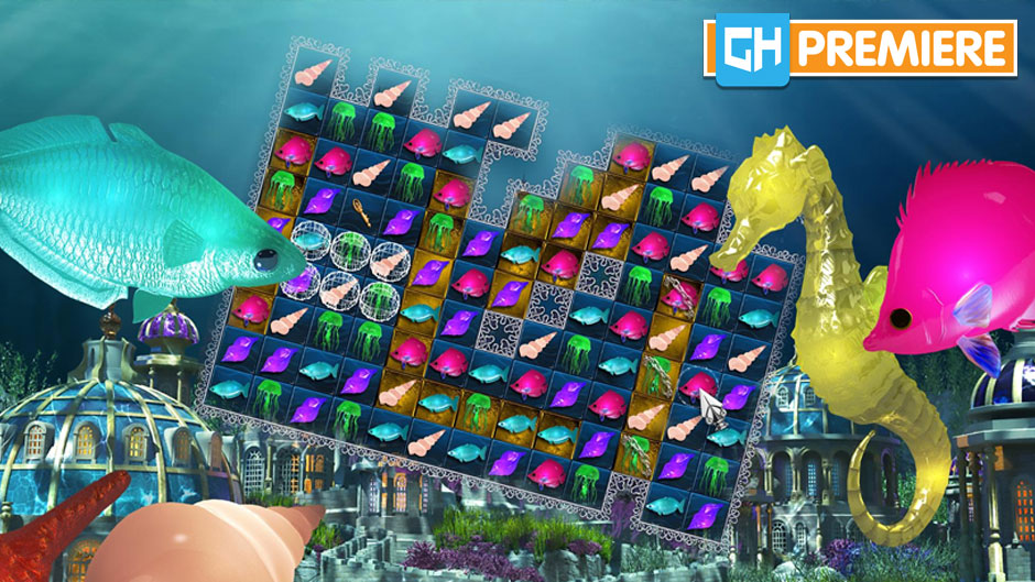 Jewel Match Aquascapes Collector's Edition - GameHouse Premiere Exclusive