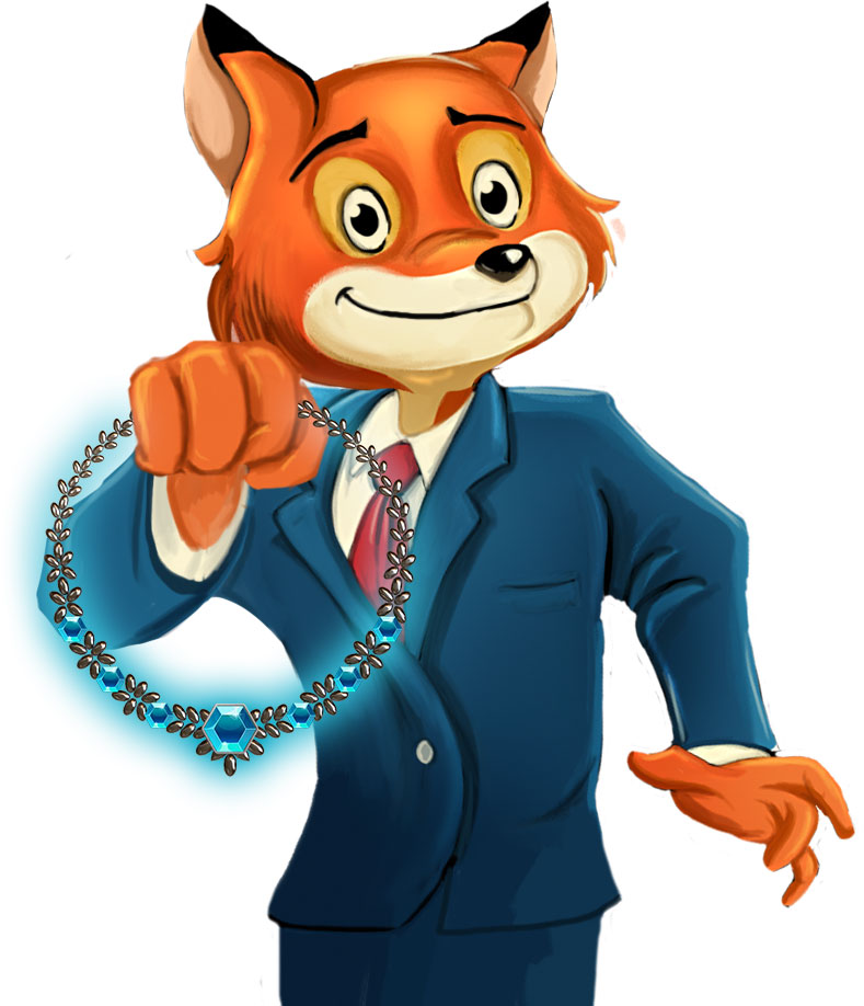 Montgomery Fox Official Art - GameHouse